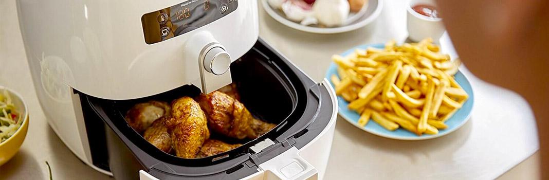 friteuse cuisson poulet