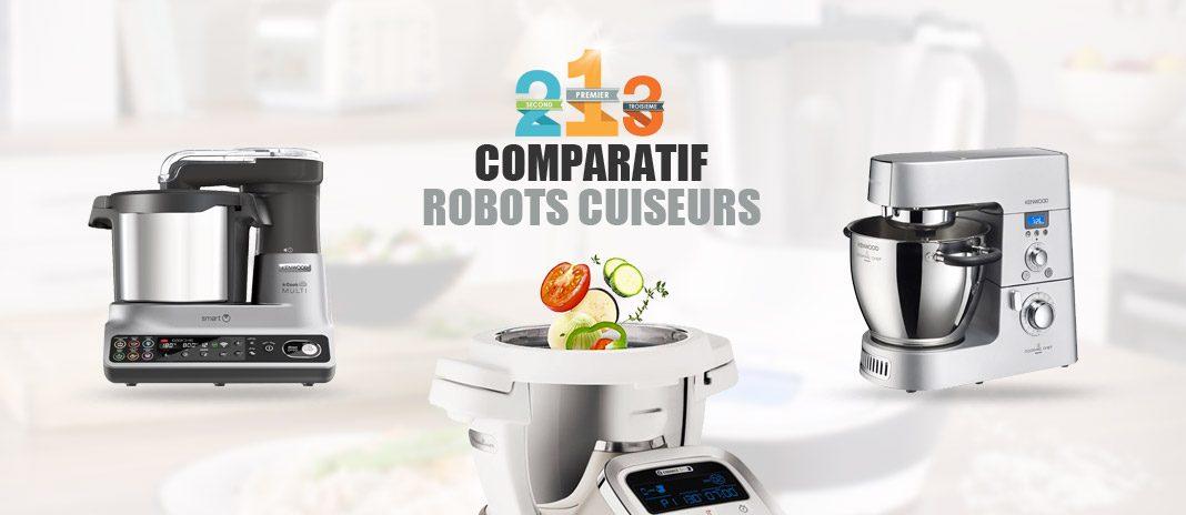 robots cuiseurs comparatif