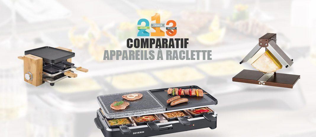 appareils à raclette comparatif