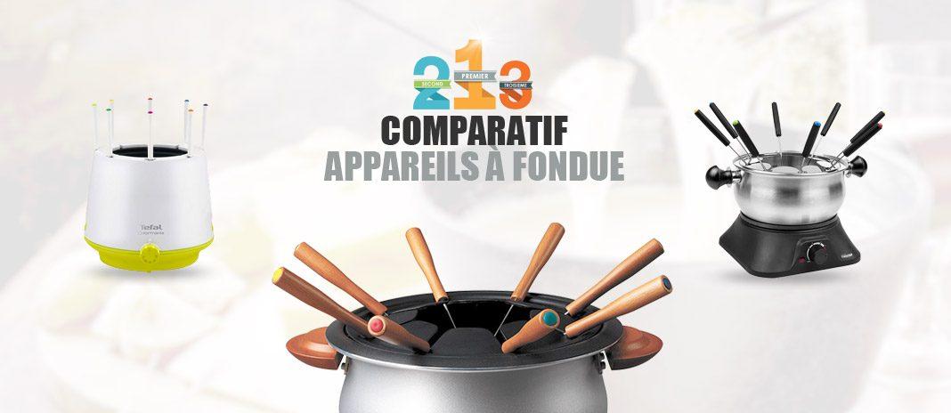comparatif appareil fondue