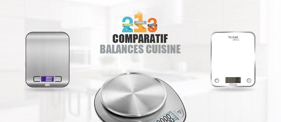 comparatif balances cuisine