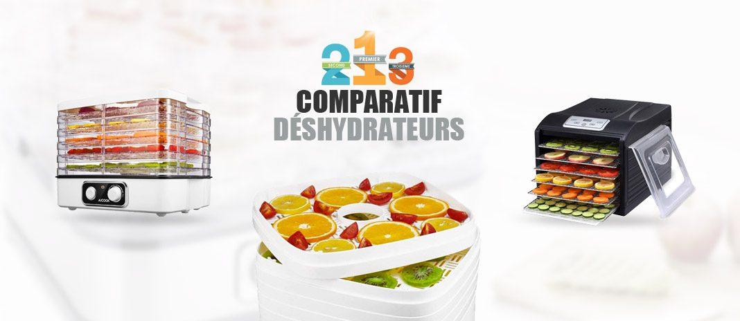 comparatif deshydrateurs alimentaires