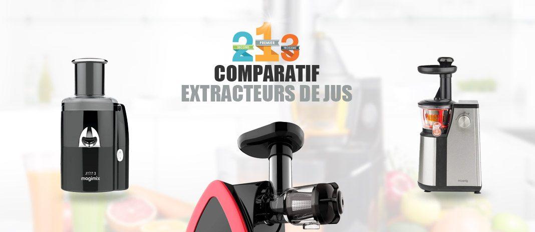 comparatif extracteurs jus