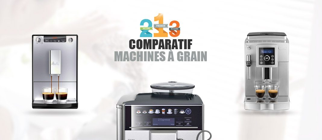 comparatif machine cafe grain