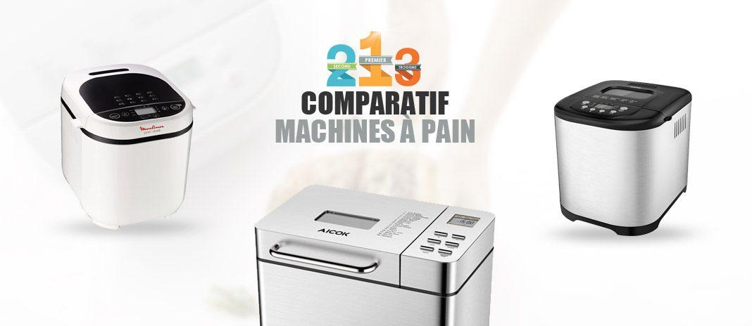 comparatif machines à pain