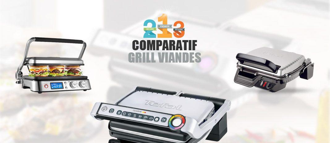 grill-viandes comparatif