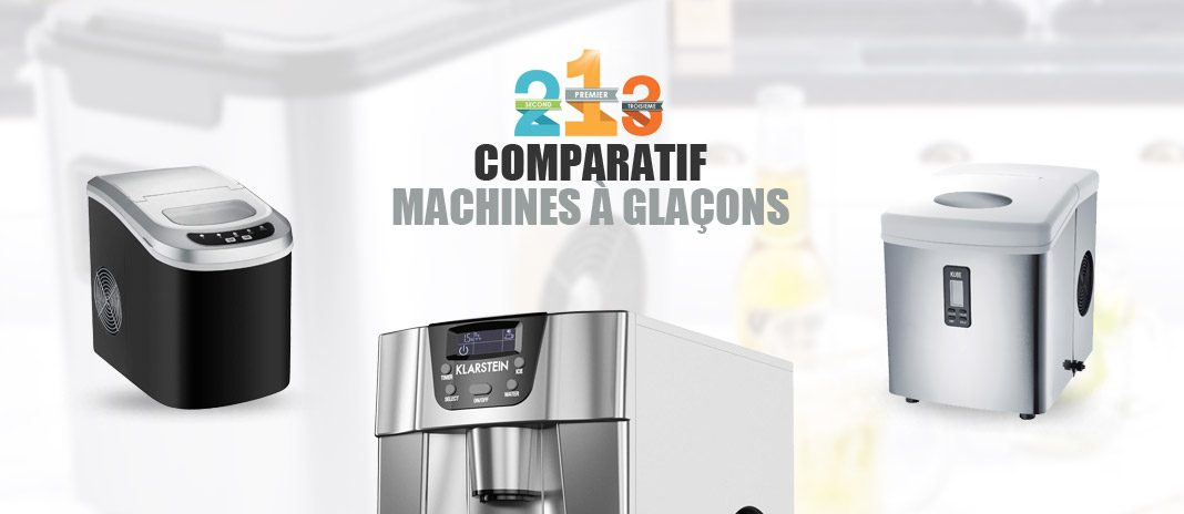 machines glacons comparatif