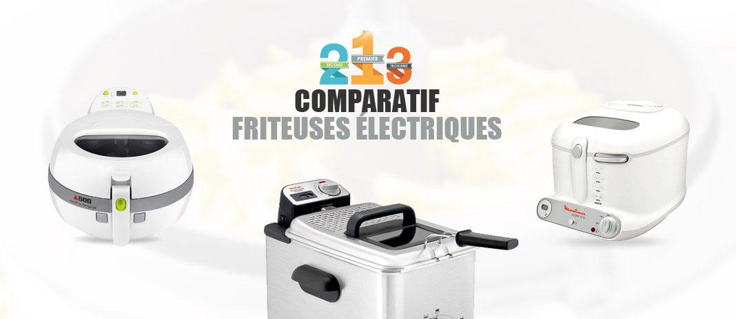 comparatif friteuses électriques
