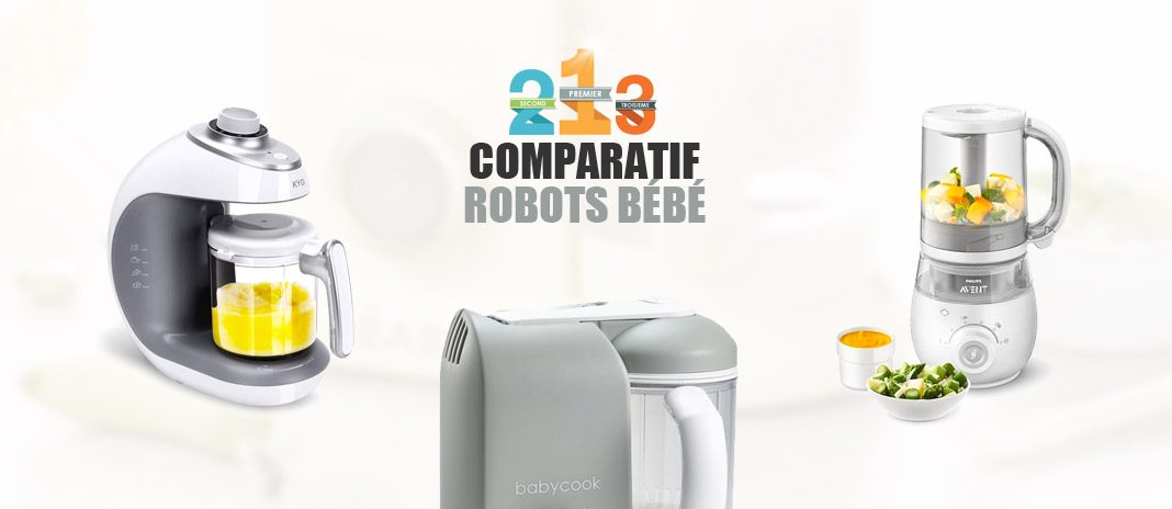 comparatif robot bebe babyccok