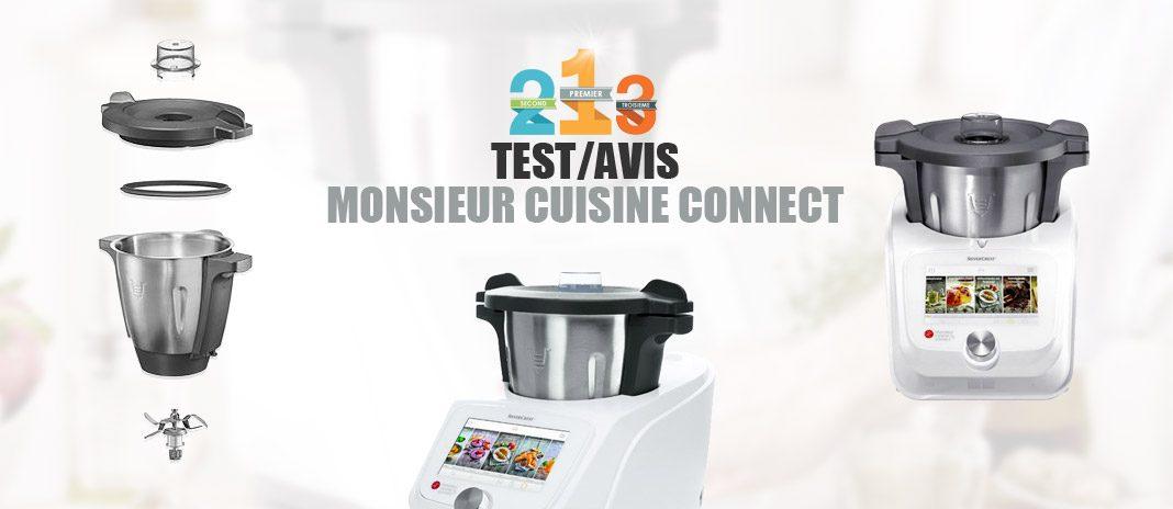 test monsieur cuisine connect silvercrest