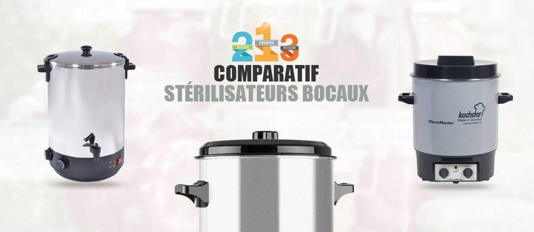 comparatif sterilisateurs