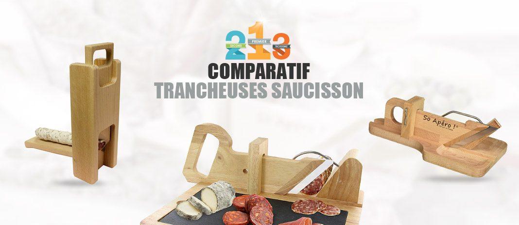 comparatif trancheuses saucisson