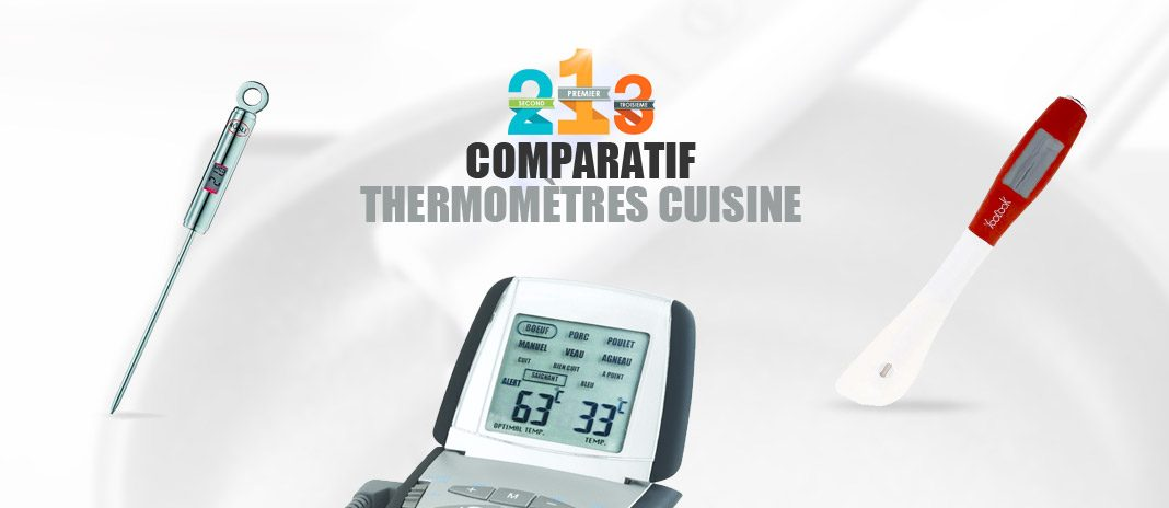 meilleurs thermometres cuisine