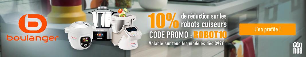 Promotion robots cuiseurs